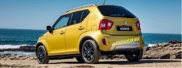 Maruti Suzuki Ignis Facelift Rear View