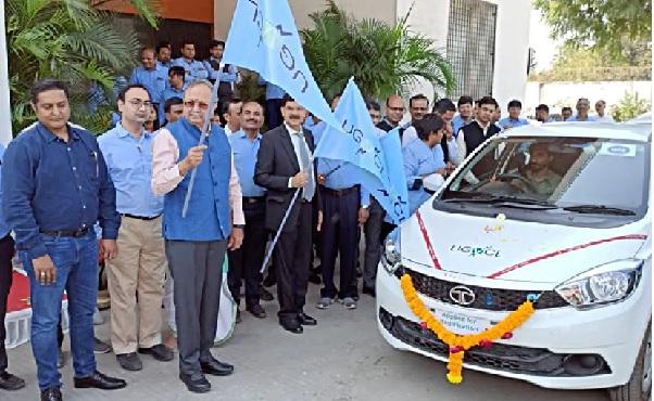 Flag-Off Ceremony of Tata Tigor EV To UGVCL