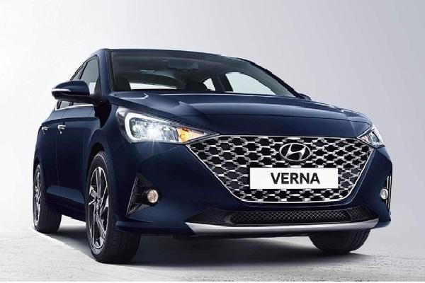 Hyundai Verna 2020 Front Low View