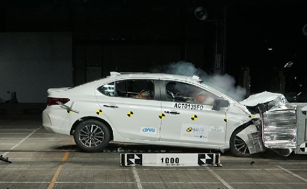 2020 Honda City Crash Test Image