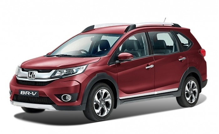 Honda BR-V Front Low View