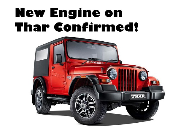 2020 Mahindra Thar Front Low View