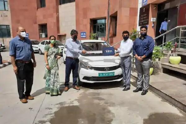 Tata Tigor EV Delivered to Ministry of AYUSH