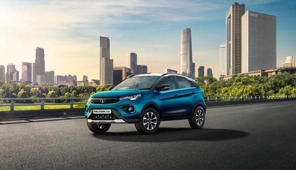 Tata Nexon EV Front Low View