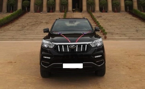BS6 Mahindra Alturas G4 Delivered to the President of India