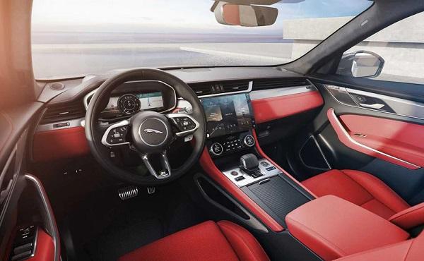 Jaguar F-Pace 2021 Interior