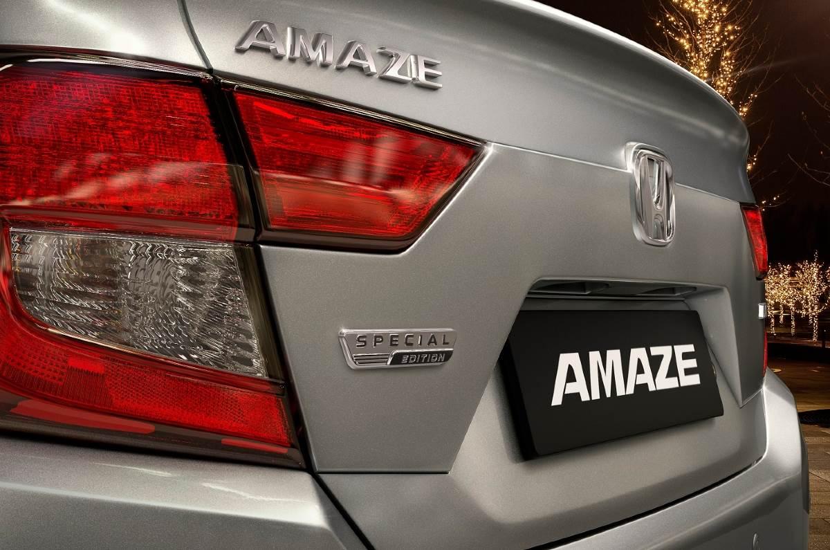Honda Amaze Special Edition Rear