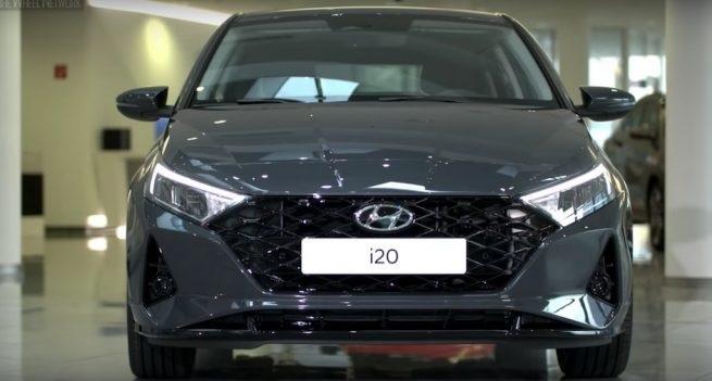 Front Fascia Of Hyundai i20 2020
