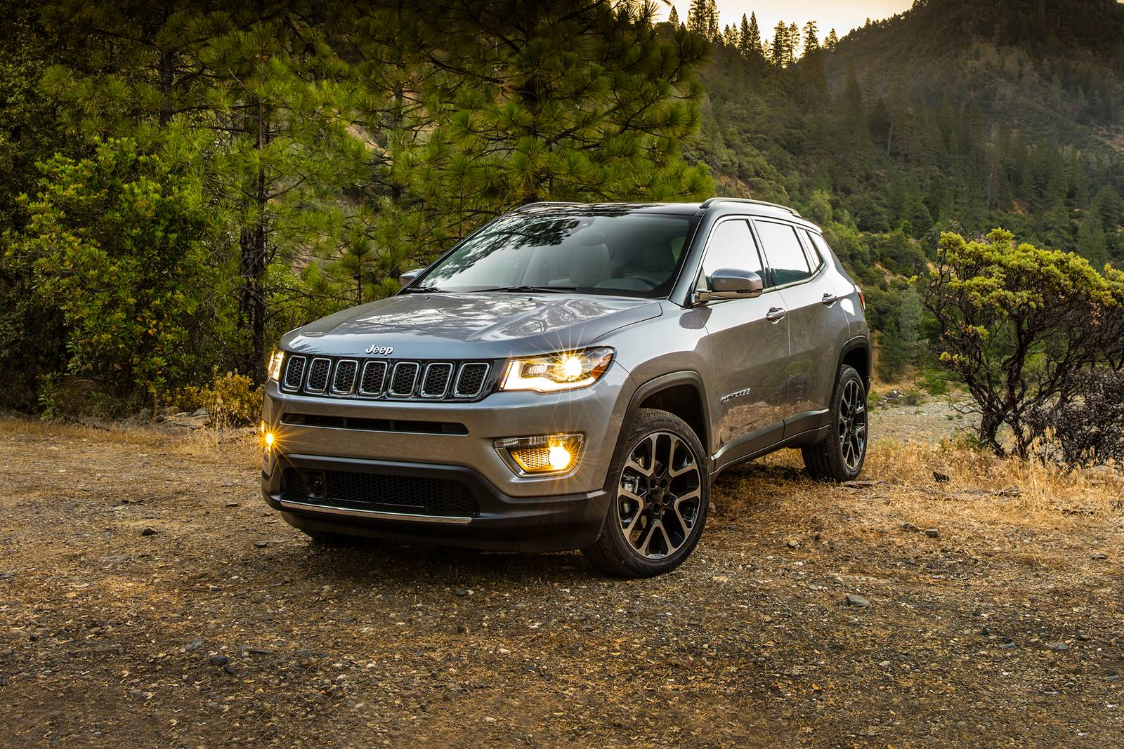 Expected Front View Of Jeep Compass 2021