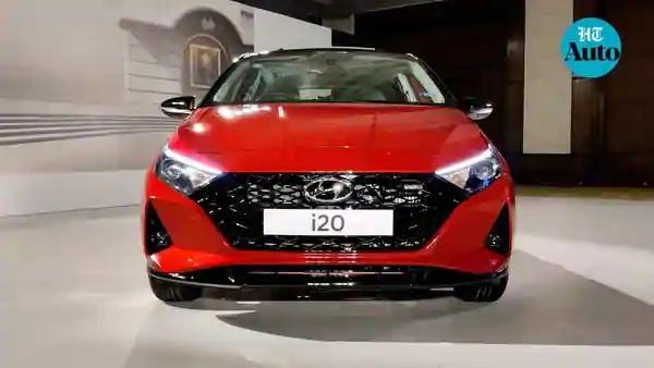 2020 Hyundai i20 Front View