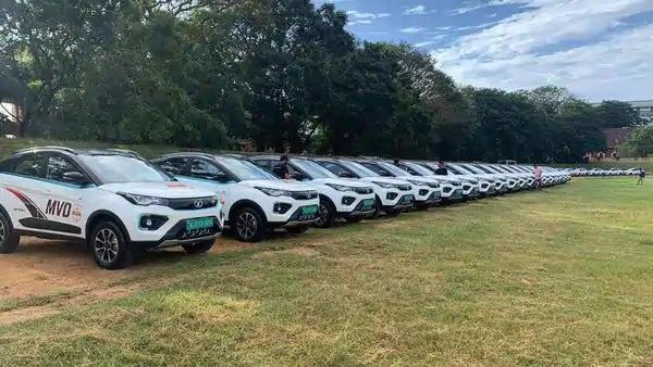 Units of Tata Nexon EV Delivered to Kerala Motor Vehicle Department