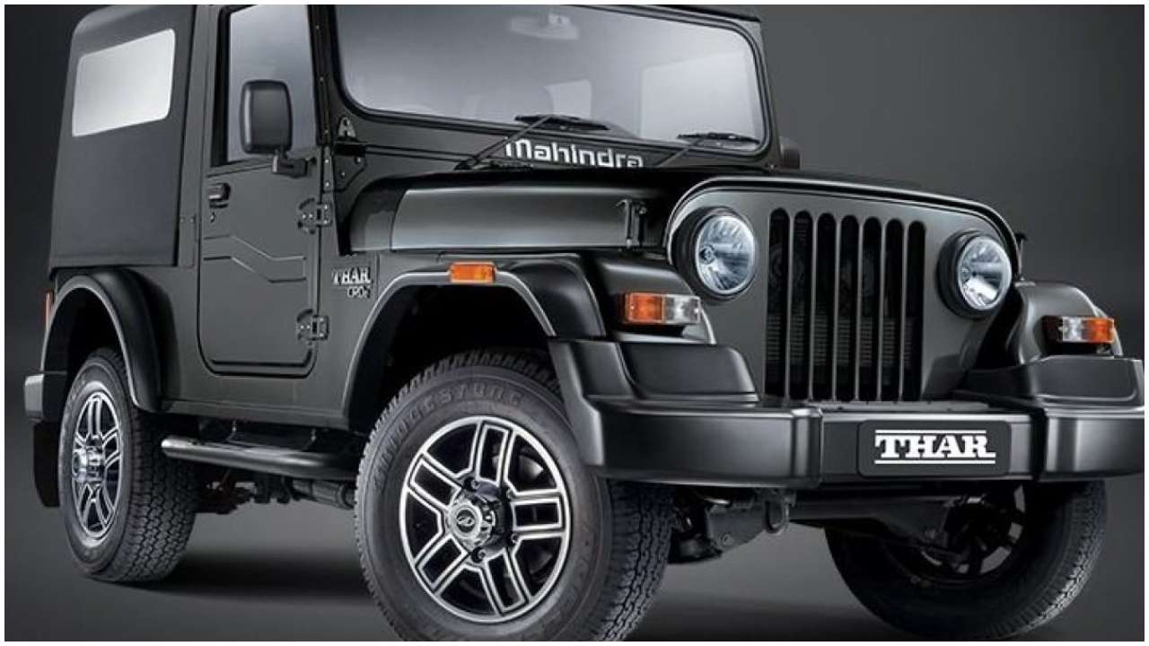 Mahindra Thar 2020 Front Side View