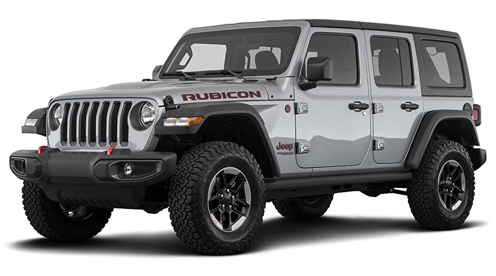 Jeep Wrangler Rubicon Front Side View