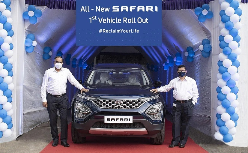 Tata Safari 2021 Being Rolled Out From the Production Unit