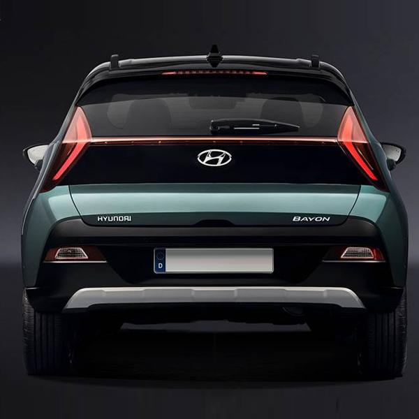 Hyundai Bayon Rear View