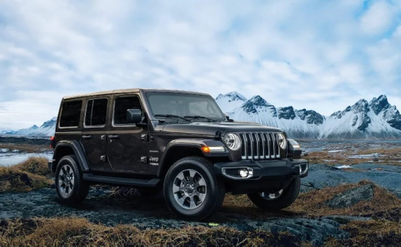 Jeep Wrangler Front Low View