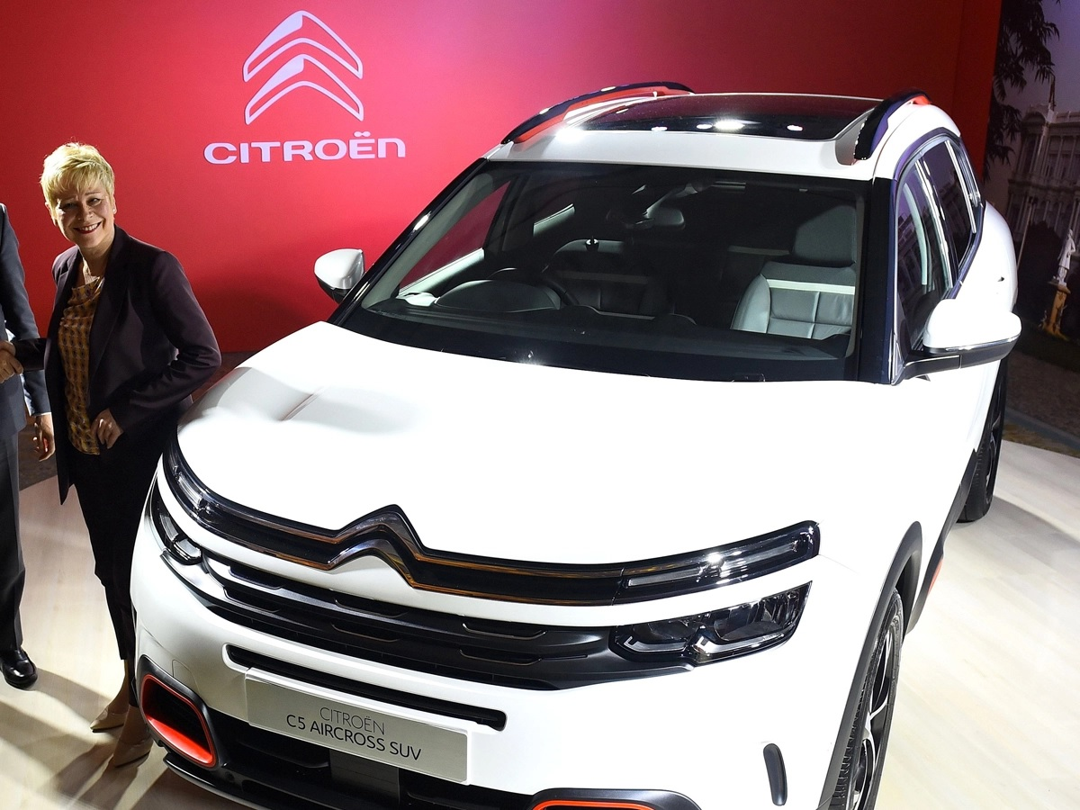 Citroen C5 Aircross Front Low View