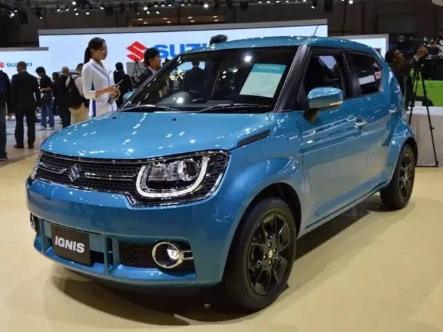 Maruti Suzuki Ignis Front Low View
