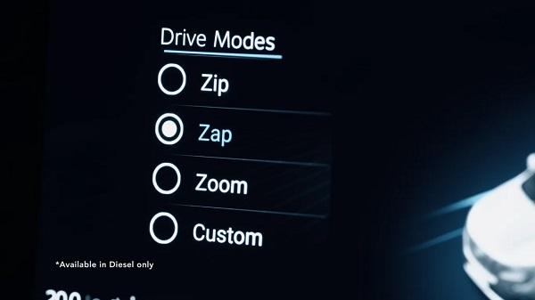 Mahindra XUV700 Driving Modes