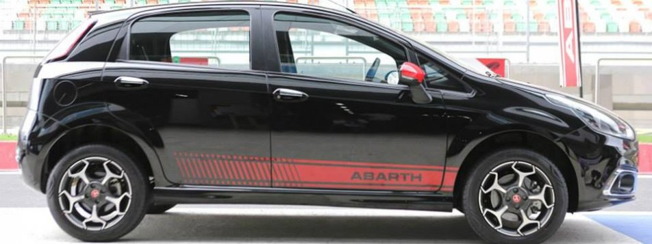 Fiat Punto Abarth Side View Picture