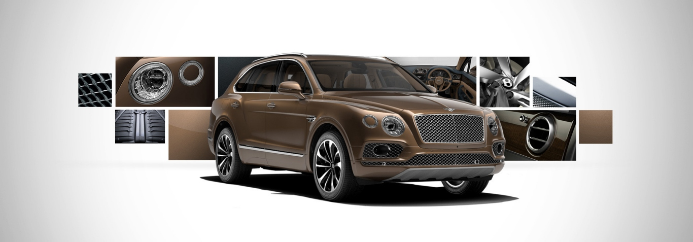 Bentley Bantayga Side View Picture