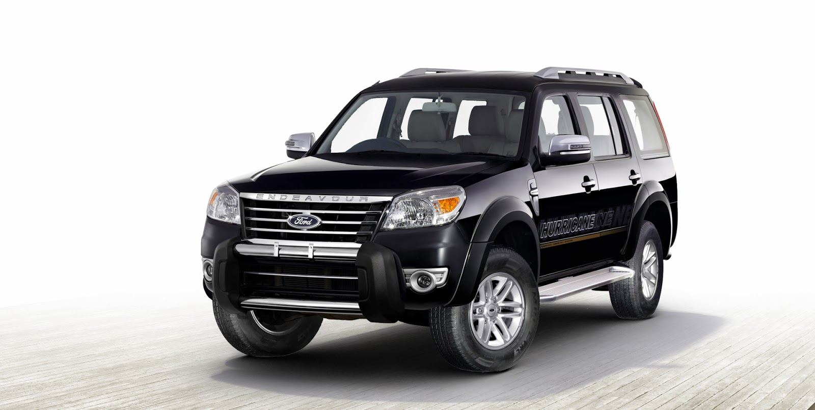 Harbhajan's Ford Endevour