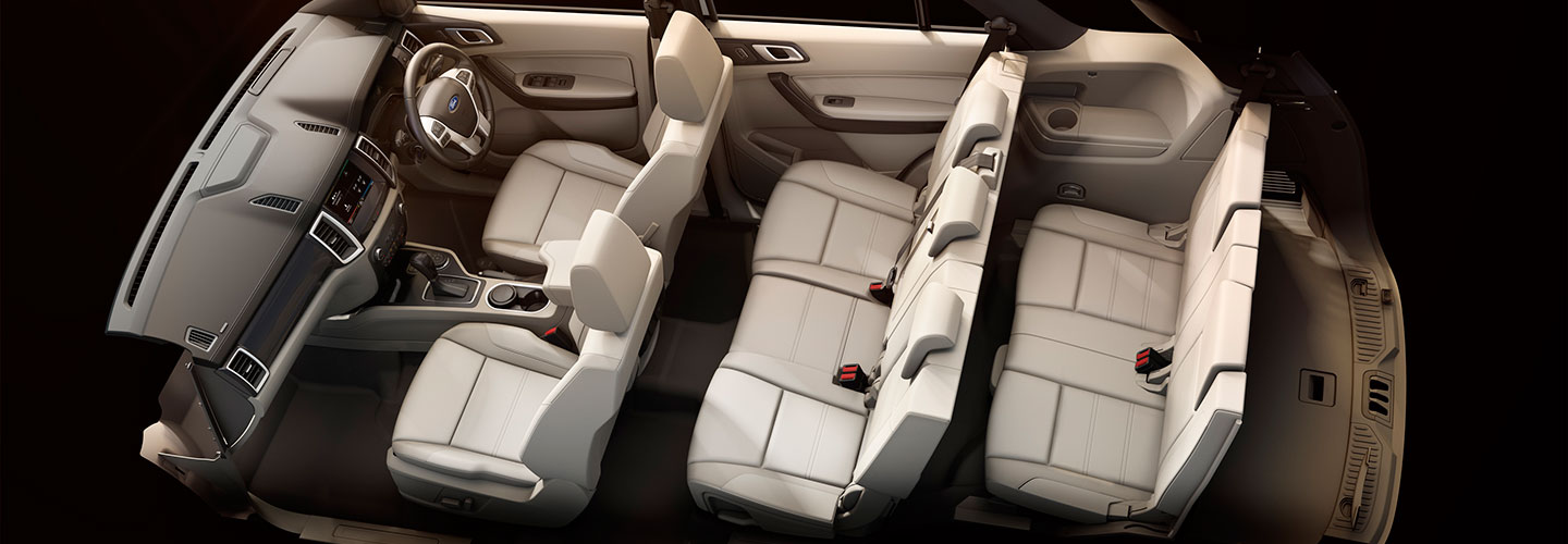 New Ford Endeavour Interiors