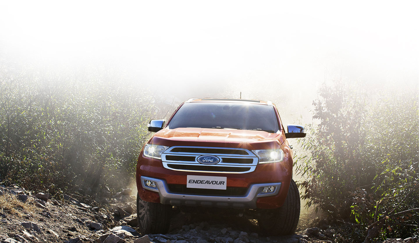 Face-lifted Ford Endeavour