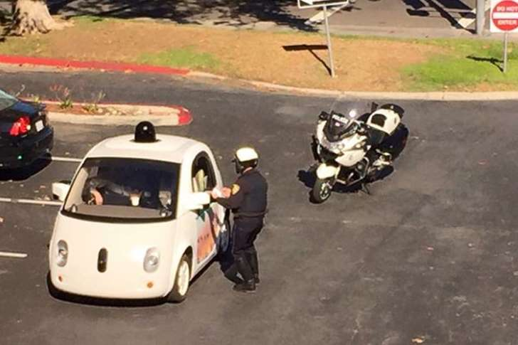 Google Self Driving Car Picture