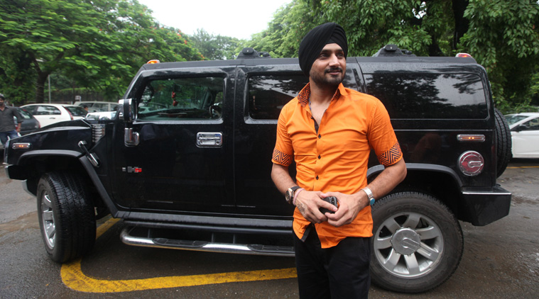 Bhajji and Hummer H2