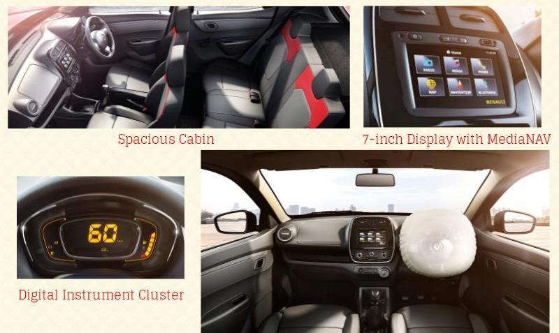Renault KWID Interior Picture