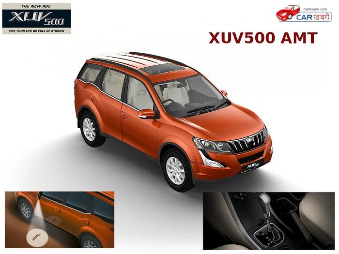 Mahindra XUV500 AMT