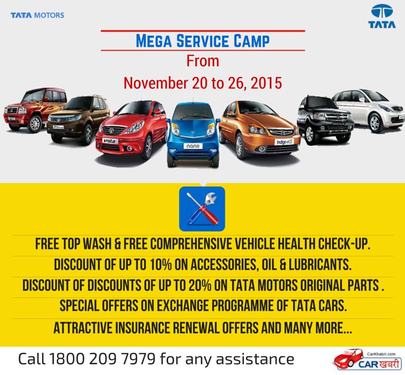 Tata Mega Service Camp