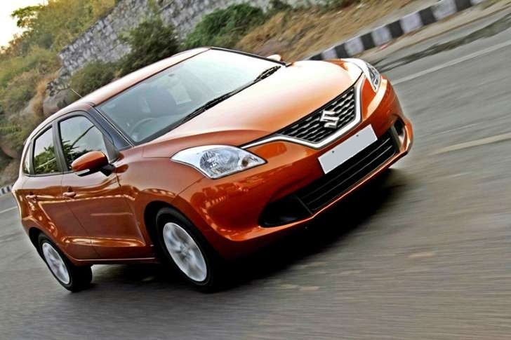 Maruti Suzuki Baleno Front View Side Picture