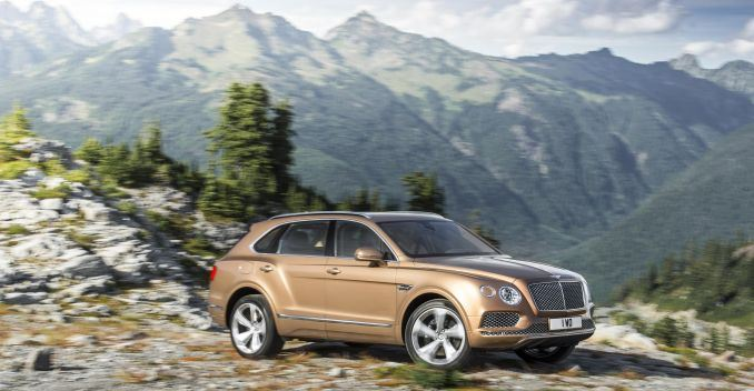 Bentley Bentayga Front View Picture
