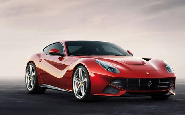 Ferrari Front View Picture