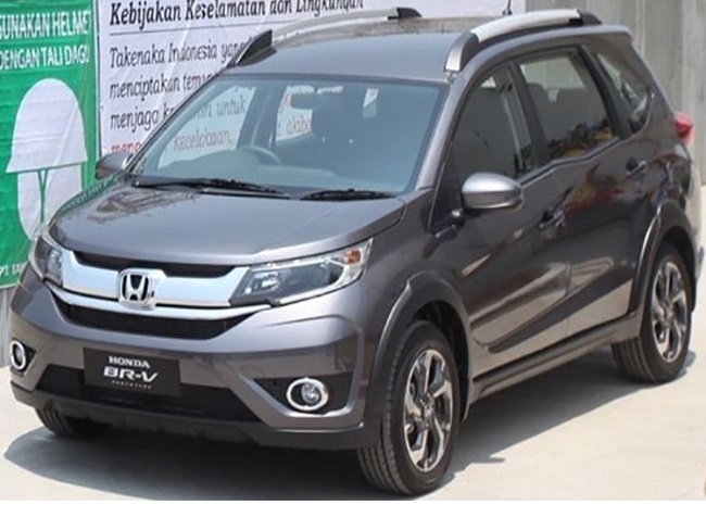 Honda BR-V Front View PIcture