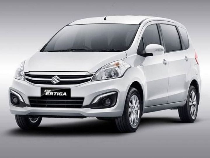 Front View Picture of Maruti Suzuki Ertiga Facelift