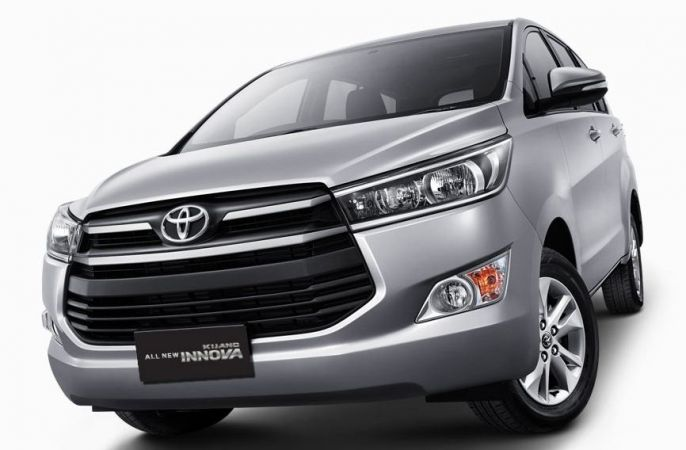 New Toyota Innova Front View Picture