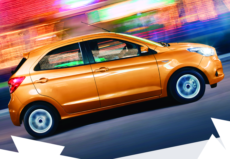 Ford Figo Side View Picture