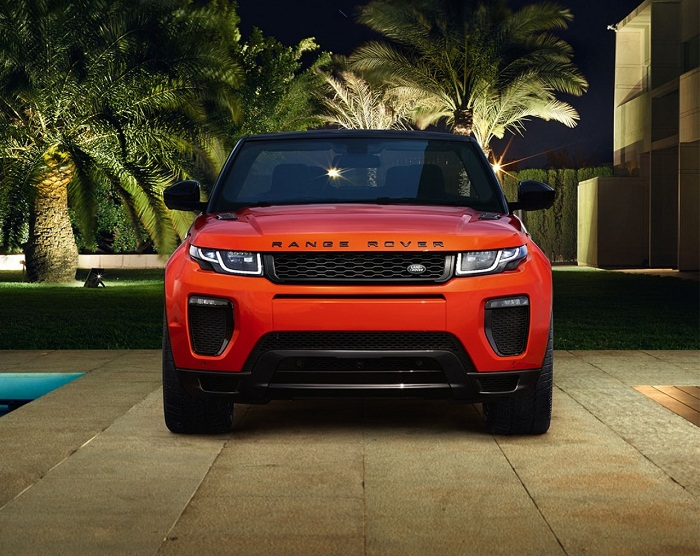 New Range Rover Evoque Convertible Front