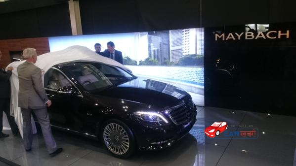 Mercedes Benz Maybach S600 unwrapped picture