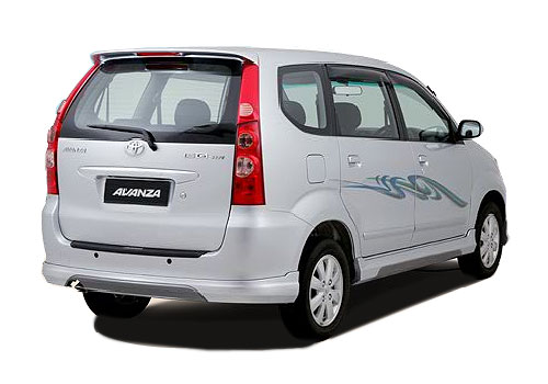 Toyota Avanza Rear Angle View Exterior Picture