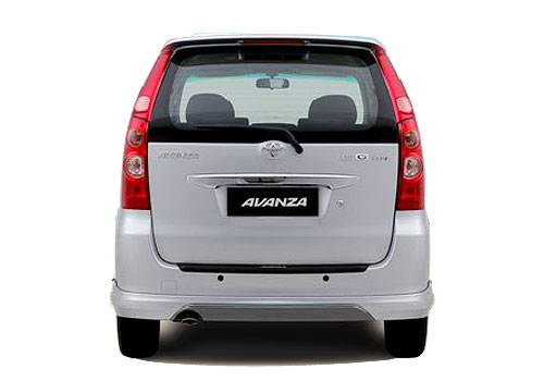 Toyota Avanza Rear View Exterior Picture