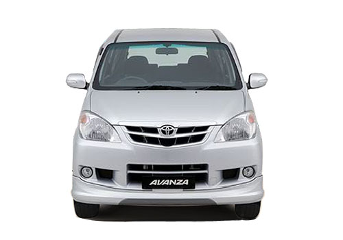 Toyota Avanza Front View Exterior Picture