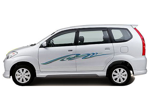 Toyota Avanza Front Angle Side View Exterior Picture