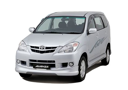 Toyota Avanza Front High Angle View Exterior Picture