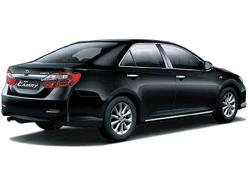 Toyota Camry Rear Angle View Exterior Picture