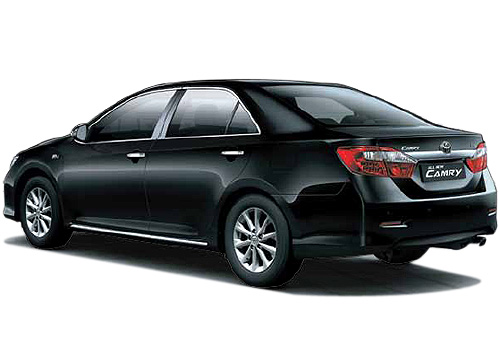 Toyota Camry Cross Side View Exterior Picture