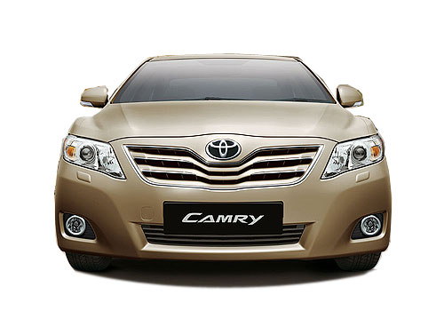 Toyota Camry Front View Exterior Picture